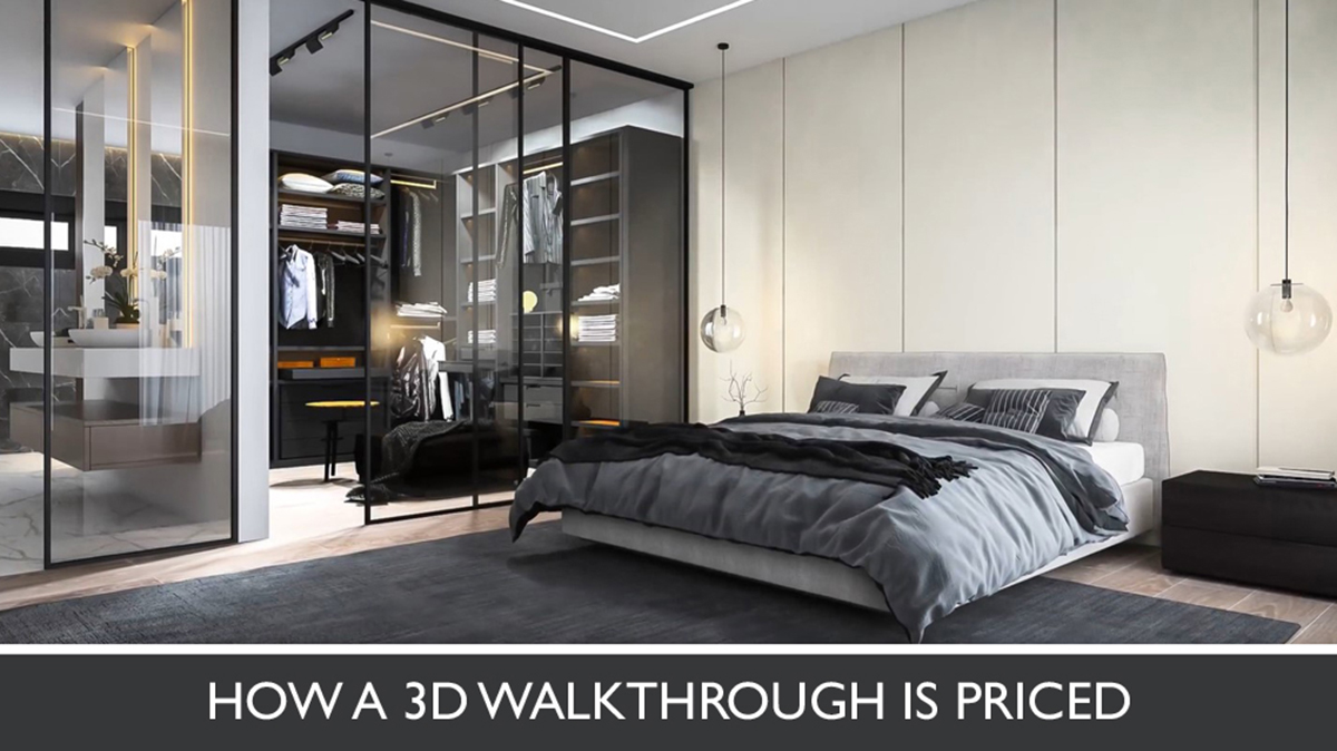 3D Animation Cost for Luxury Mansion Design
