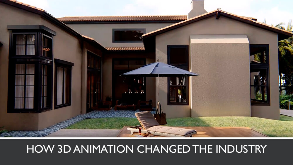 Photorealistic 3D Animation Of A Mansion