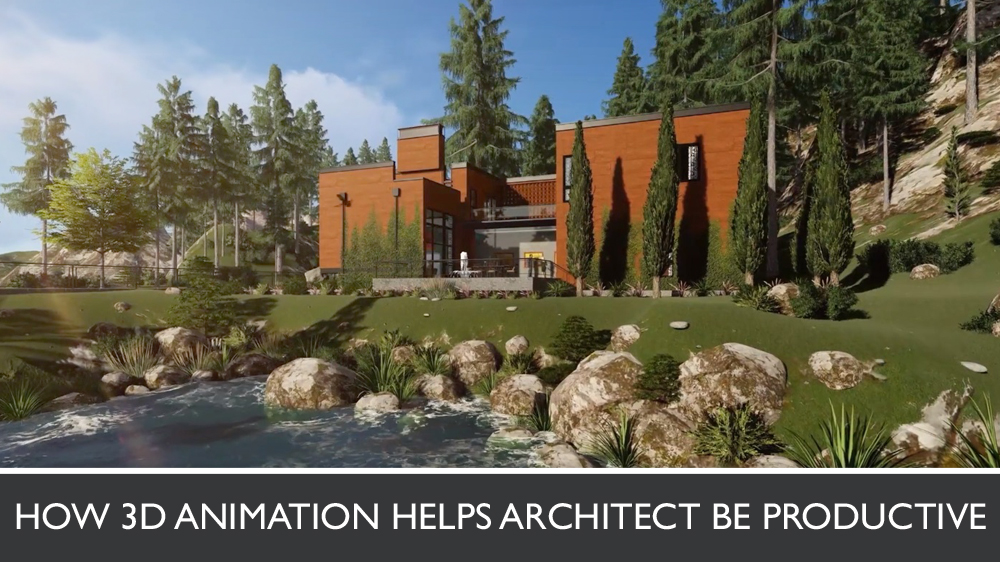 3D Video of a Cottage Made by CGIFlythrough Animation Studio