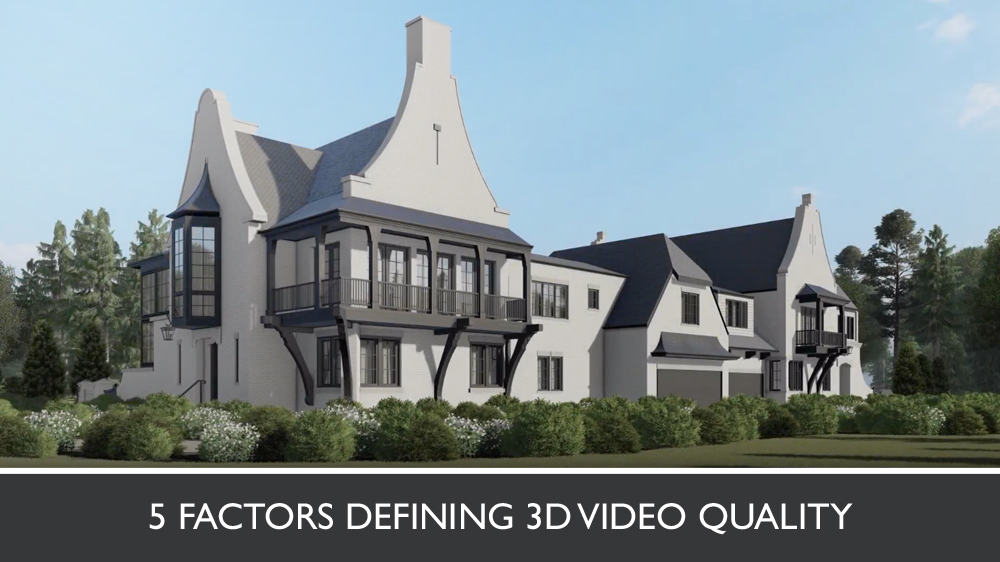 3D Animation for a Cottage Surrounded by Greenery