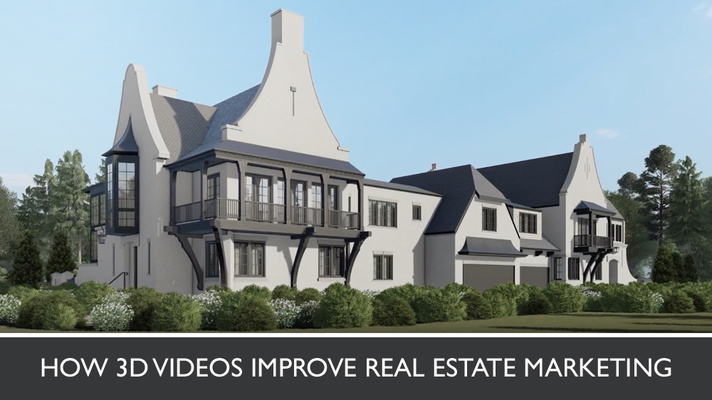 3D Photoreal Video of a Modern House Exterior