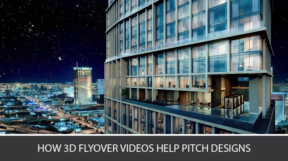 A CG Flythrough Animation of Urban Landscape