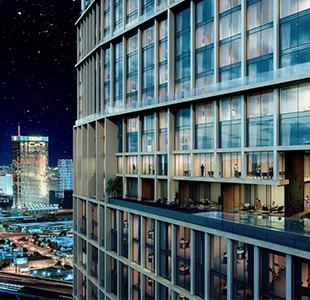 A CG Flythrough Video of Urban Landscape