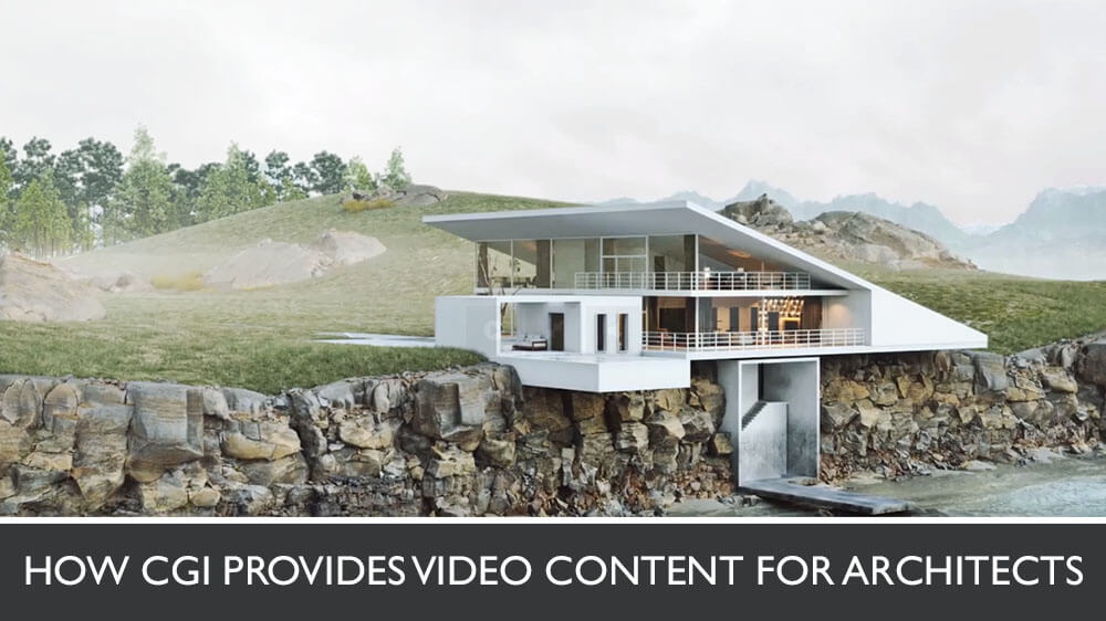 3D Animation Of A Rural Seaside House