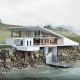 3D Architecture Video of a Residence on a Coast