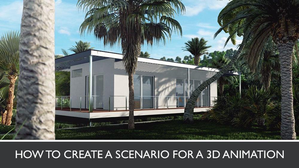 3D Animated Walkthrough of a Jungle House
