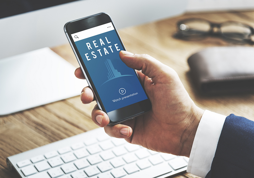 Person Searching for Marketing Ideas for Real Estate