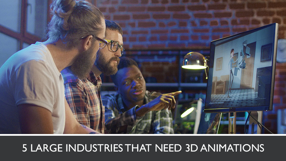 3D Animators Working on a Scene