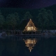3D Animation of a Lakeside House