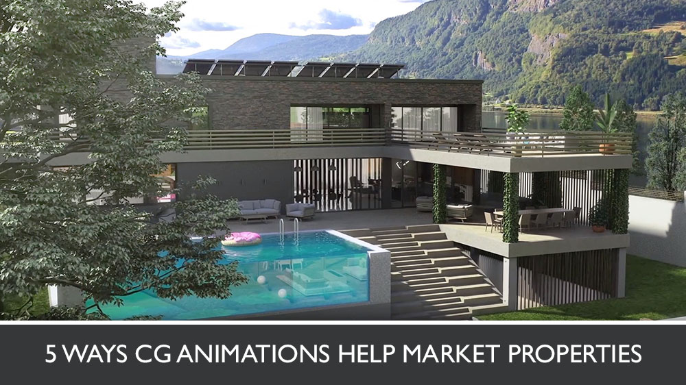3D Animation for a Mountain Residence