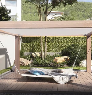3D Animation of a Summer Terrace