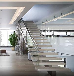 3D Animation of a Villa Interior